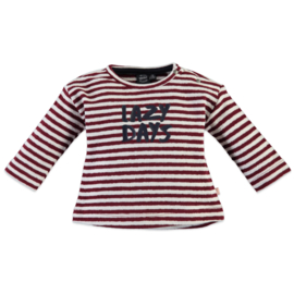 Babyface: 'Lazy Days' Longsleeve - Burgundy