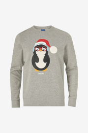 Jack & Jones: Snowfall Sweater - grijs