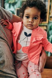 Babyface: Meisjes Vest Ruffles - Neon Roze