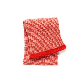 Imps&Elfs: Gebreide sjaal - rood