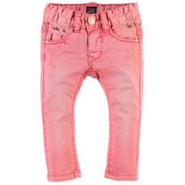 Babyface: Girls Pants Slim Fit - Coral Pink