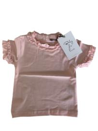 Baby De Luxe: T-shirt Ruffles - Pink