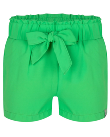 Indian Blue Jeans: Paperbag Shorts Island Green - Girls