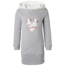 Noppies: Dress sweat ls Hurricane - Grey Melange (75562)