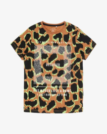 Name It: Jongens T-Shirt Brenden -  Bruin
