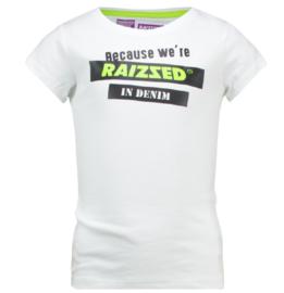 Raizzed: T-shirt Atlanta - Real White