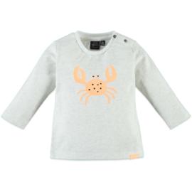 Babyface: Jongens T-shirt Crab - Off White Melee
