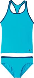 Nike: Tankini Blauw