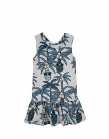 Dear Sophie: Blue Palm Dress
