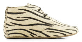Maruti: Gimlet grl leather - Mini Zebra White Black