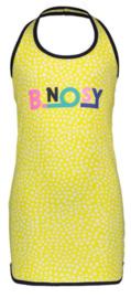 B.Nosy: Halterjurkje - Geel met witte stippen