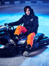 SuperRebel: Ski Pants 6684 Neon Orange