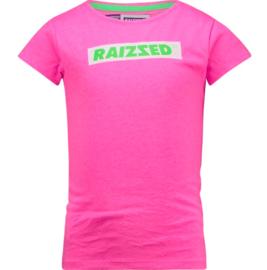 Raizzed: T-shirt Madrid - Neon Pink