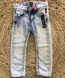 Babyface: Meisjes jogg jeans slim fit - Bleached denim