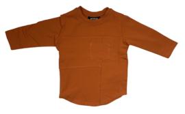 Mini Kid: Longsleeve Zakje - Oranje