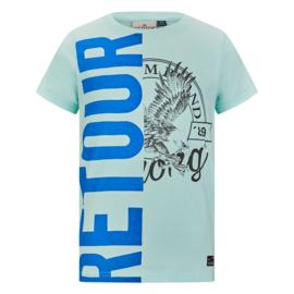 Retour: T-shirt Elwin - Soft Green