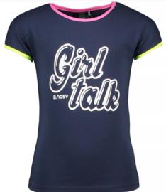 B.Nosy: T-shirt Girl Talk - Blue