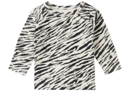 Noppies: T-shirt LS Macon - Oatmeal