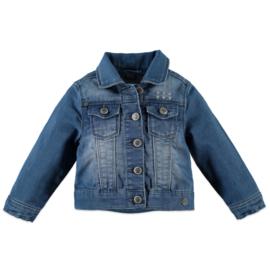 Babyface: Denim jacket- blue denim