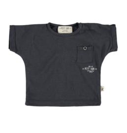Petit Indi: T-shirt - navy blue