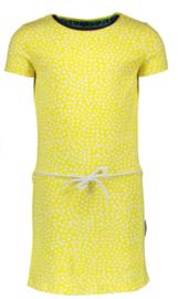B.Nosy: T-shirt dress dots - yellow