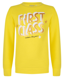 Indian Blue Jeans: Crewneck first Sunny Yellow - Girls