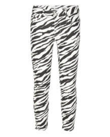 Indian Blue Jeans: Zoe Cropped Zebra - Girls