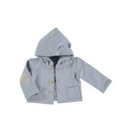 Petit Indi: Jacket Capuchon - Licht Blauw