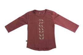 Noeser: Henny Shirt silhouette burgundy queen