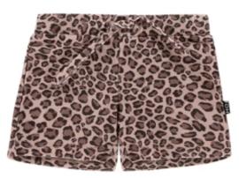 House of Jamie: Swim Short - Caramel Leopard