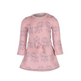 Noeser: Else Dress AOP Poodle Pink