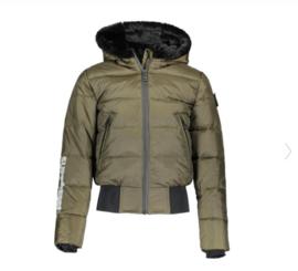 SuperRebel: Winterjas Army R909 - Army Green