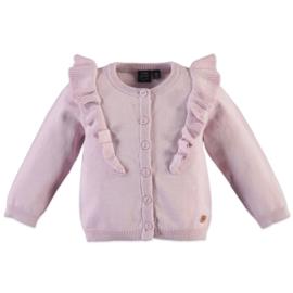 Babyface: vestje ruffles - old pink - 9208370
