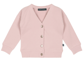 House of Jamie: Button Cardigan Powder Pink