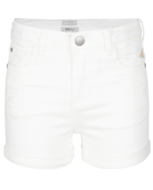 Indian Blue Jeans: Denim Shorts White - Girls