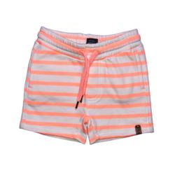 Babyface: Striped pants- Coral