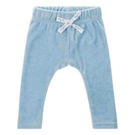 Baby deLuxe: broekje teddystof - blauw BDL04