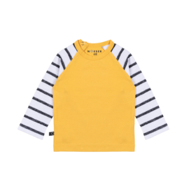 Noeser: Raf raglan golden yellow