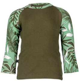 Noeser: Raf raglan jungle woody green