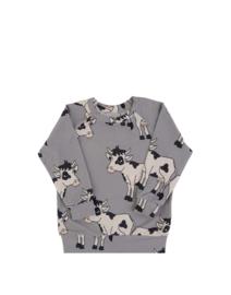 Dear Sophie: Cow Grey Jersey Longsleeve