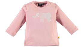 Babyface: Longsleeve Olifant - Pink