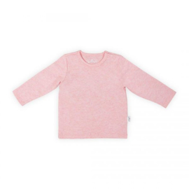 Jollein: Shirt long sleeve speckled pink