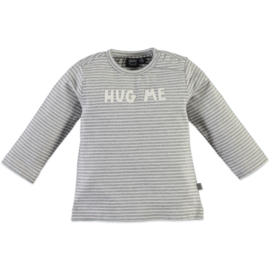 Babyface: 'Hug Me' Longsleeve - Light Grey Melee