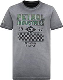 Petrol: Jongens T-shirt Dark Grey