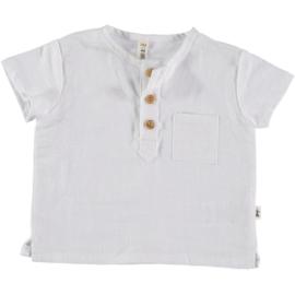Petit Indi: Polo white - 35.17