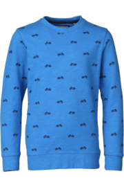 Petrol: Sweater motoren - Blauw