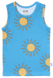CarlijnQ: Big Sun tanktop - blauw