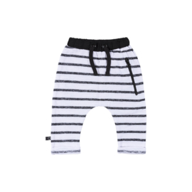 Noeser: Tim pants stripe black magic