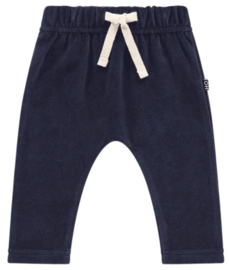 House of Jamie: Baby pants - Midnight Velvet Blue