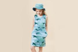 Little Man Happy: Miami Turtle Pocket Dress